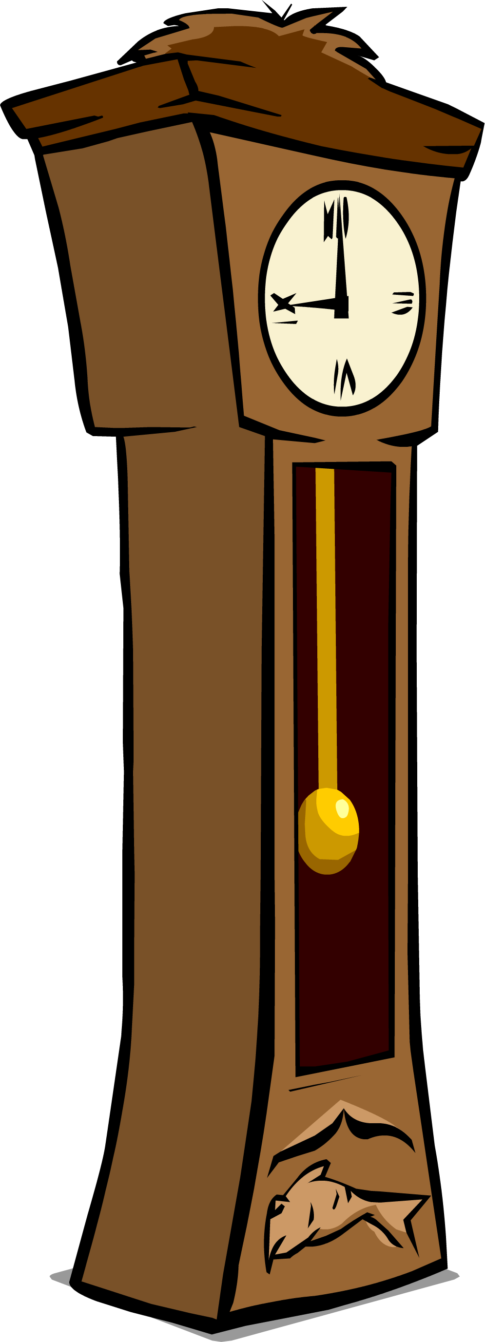 image grandfather clock sprite 003 png club penguin wiki rh clubpenguin wikia com grandfather clock pendulum clipart grandfather clock pendulum clipart