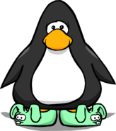 Green Bunny Slippers PC