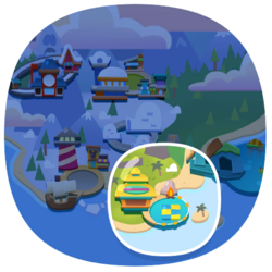 Loading screen Coconut Cove