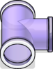 T-joint Puffle Tube sprite 073