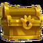 Vuelta del Día cofre de oro icono