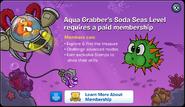 Aqua Grabber Soda Seas Member