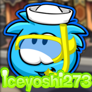 BluePuffle470 puffle party icon