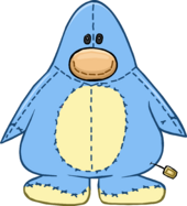 Blue Penguin Stuffie Costume icon