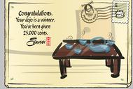 Dojo Contest 1st Place postcard