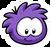 Purple Puffle Pin icon