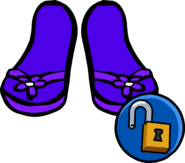 Purple Sandals unlockable icon