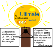 The Ultimate Award