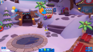 Waddle On Party Mt Blizzard door