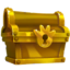 Daily Spin gold chest icon