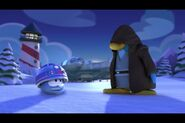 Jedi Penguin and R2 Puffle