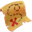 Quest item Treasure Map icon