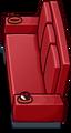 Red Designer Couch sprite 011