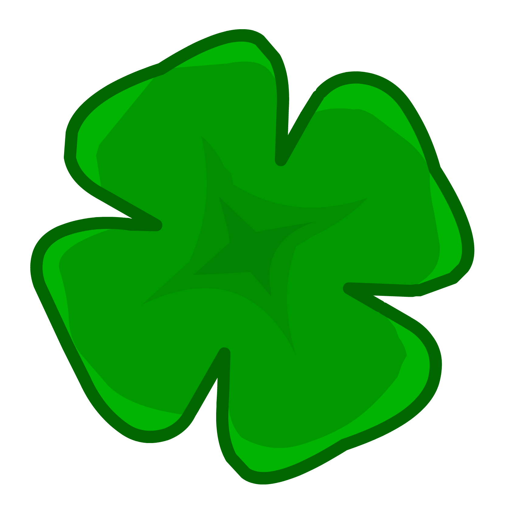 Shamrock pin club penguin wiki fandom powered by wikia shamrock voltagebd Images