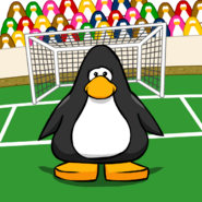 Soccer background from a Player Card