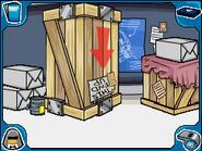 Gadget Room crates
