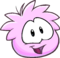 Puffle 2014 Transformation Player Card Pink