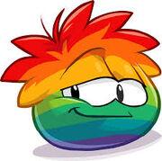 Rainbow puffle45