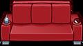 Red Designer Couch sprite 004