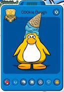 Tarjeta de jugador de C00kie Dough