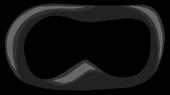 Black Superhero Mask icon