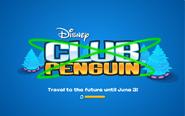 Future Party logo screen