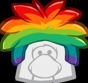 Gorro de Puffle Multicolor icono