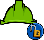 Green Hard Hat clothing icon ID 11133