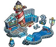 Icono de la Playa durante la Copa Club Penguin