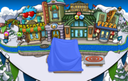 Plaza Fiesta Isla de Club Penguin