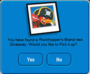 Rockhopper's brand new giveaway pick up