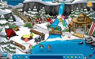 La Bahía durante el Campamento Pinguino
