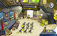 Puffle Party 2013 Lighthouse