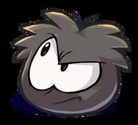 Puffle negro 1