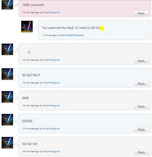 NinjaBlog Spam