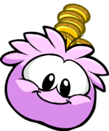 Pink PuffleCoin