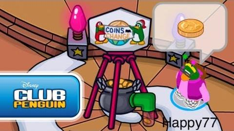 Club Penguin Holiday Party 2011 Sneak Peek