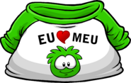 I Heart My Green Puffle T-Shirt icon pt