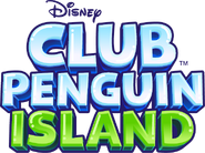 Isla de Club Penguin Logo EN