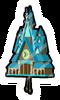 Pin de Torre del Reloj icono