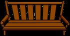 Wood Bench sprite 001