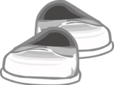 White Patent Shoes