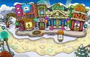 Plaza fiesta de puffles