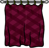 Burgundy Curtains furniture icon ID 624
