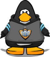 EPF Workout Hoodie on a Player Card ru