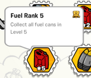 Fuel rank 5 stamp book