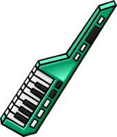 Green Keytar clothing icon ID 5066