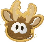 Reindeer Puffle Cookie