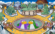 Waddle On Party Snow Forts