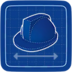 Blueprint Hardest Hat icon